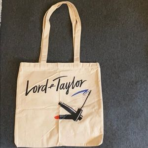 Canvas Lord & Taylor Reusable Bag